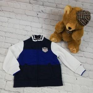 Boys Tommy Hilfiger Varsity Jacket 2T/B zip up